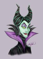 Day 33: Maleficent by SteamboatLyssie