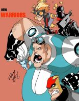 New Warriors by amydrewthat