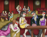 Zombie Hostesses by SilverMonki