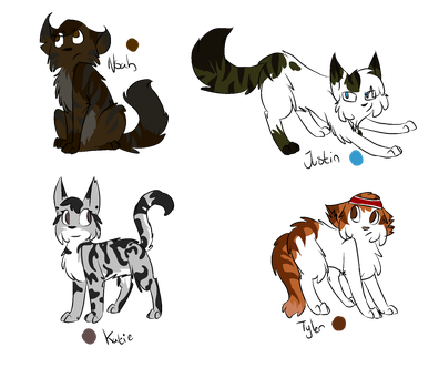 Total Drama, Characters pt 2 by Drama-kitty