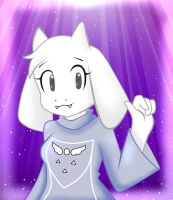 Toriel by kary22