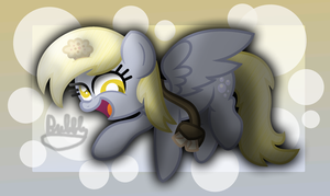 Derpy Deliveries [+Speedpaint] by xThe-Bubbly-One