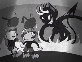 Don't Deal With The Devil ( Cuphead ) by JamToon