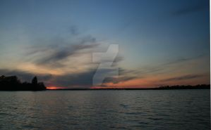 Orillia Sunset by ryanhacking