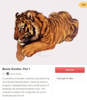 Bearly Doodles - Part 1 - Only 5GBP! by BearlyFeline
