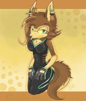Lexi The Maned Wolf by deerzii