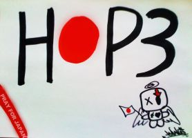 """HOP3"" FOR JAPAN by Japoneis202"
