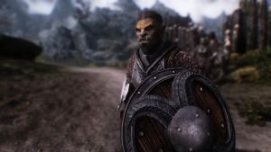 Skyrim NPC Male Orc I by haunted-passion
