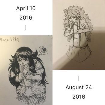 Art Improvement with Angel by Glitchion
