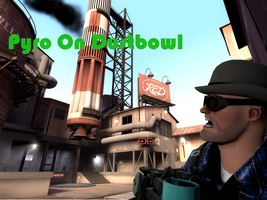 Pyro on Dustbowl by KitMan1973