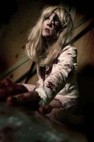 Blonde Zombie 3 by hallopino