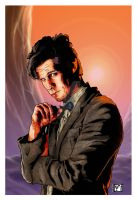 The Doctor on Titan by westleyjsmith
