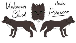 Unknown Blood - Pinecone Reference by fluffylovey