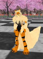 Arcanine Female by dragonzero1980