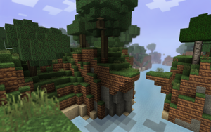Minecraft River Side by LilioTheOne