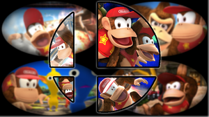 Ready to Smash: Diddy Kong by Kirby-Kid