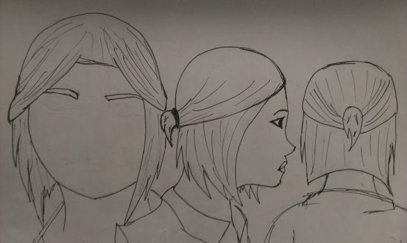 Hair for FemScout ( IDEA ) by TF2MCgirlCraft