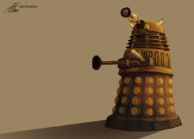 Dalek by AlanTheRobot