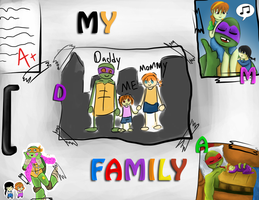 TMNT-My Family by FlashyFashionFraud