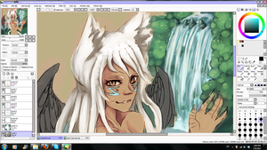 Cat Or Bird WIP by Uzani