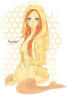 (COLORED) orhime bunny by IDK-kun