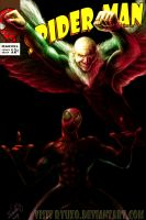 Spiderman...Meet The Vulture by ryuzo