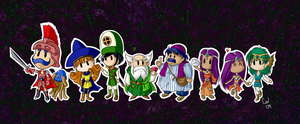 Dragon Quest 4: Chosen Ones by TheCatlady