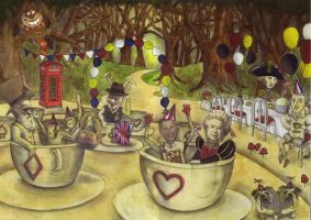 A Very British Tea Party by x-Shelley-x
