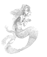 Mermaid by calendae