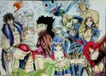 Personagens de Fairy Tail by JeanCarlo183