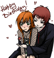 : happy bday my dear : by Lala-Mot