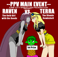 Raven Vs. Terra by BlueSerenity