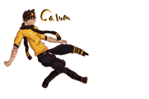 Calum Sketch thingy.... by Maplefeather