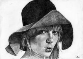 Anita Pallenberg by Csillipepper