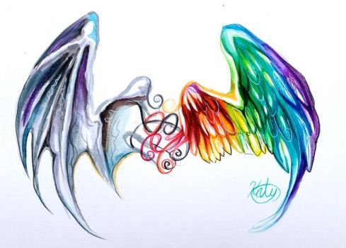 Wings Tattoo :D by Lucky978