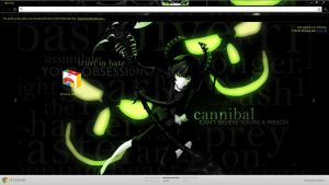 Chrome Theme BRS: Dead Master by seraphimax
