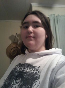Me and my Shinedown hoodie  by lalarose311