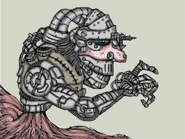 Crawler Creeping Coloured by Gears24