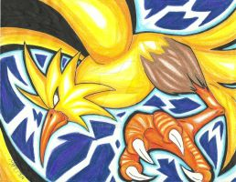 Zapdos by Enixe