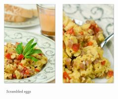 Scrambled egg by shatinn