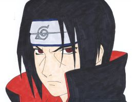 Itachi Uchiha by IXcutionI