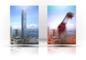 Falling Building Comparison by Xiox231