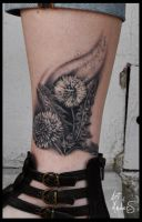 Dandelion by Anderstattoo