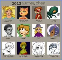 Art Summary of 2012 by 3Fangs