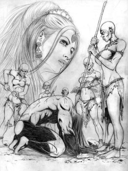 penciling by AdilShahKhan
