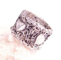 Lace Heart Ring by byrdldy