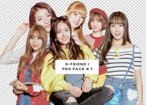 G-Friend PNG PACK #7 by faithbub
