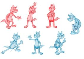 Silly doodles 7 by valdo-wolf