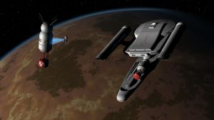 USS Alacrity deploys orbital monitoring stations by Jim197