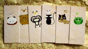 Bookmarks by Mik2mei